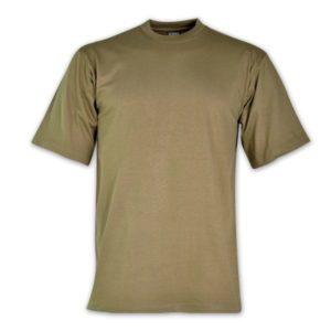 170g Combed Cotton T-shirt Khaki