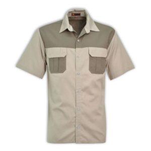 Savannah Bush Shirt Stone/Khaki