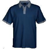 Mens Aspen Golfer navy-steel grey
