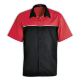 Traction Pit Crew Shirt black-red